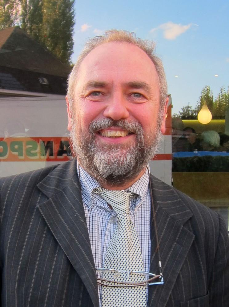 Johan Van Durme, uittredend burgemeester en lijsttrekker van het kartel CD&V/N-VA