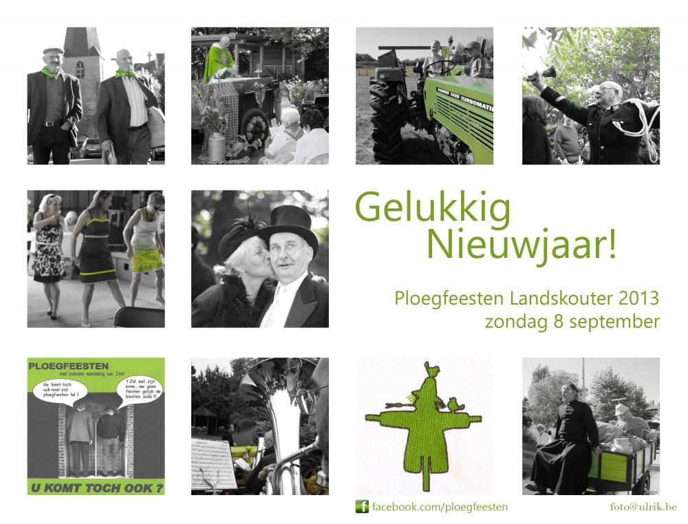 de Ploegfeesten gaan dit jaar door op zondag 8 september