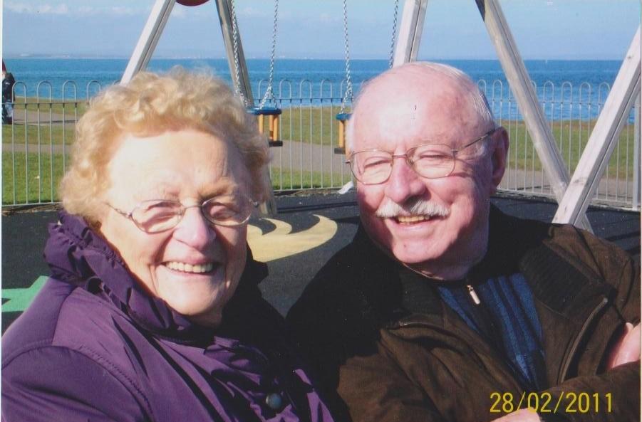 Denise en Marcel tijdens een trip naar Ierland in februari 2011 (foto via de familie)