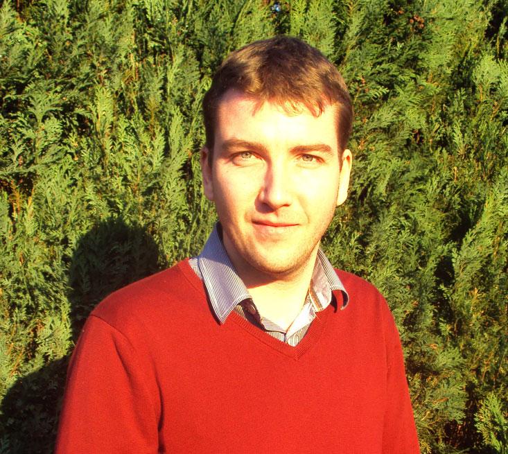 de nieuwe afdelingsvoorzitter van de CD&V Oosterzele, Cedric Blanpain