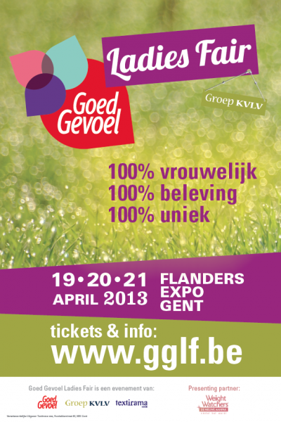 de KVLV naar de Ladies Fair op 20/21 april