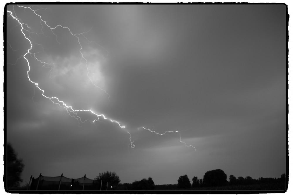 Onweer in Landskouter