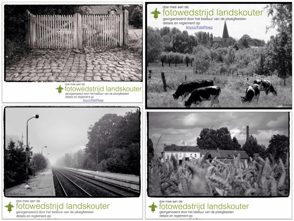 Foto's van juryleden willen inwoners van Landskouter warm maken voor de wedstrijd