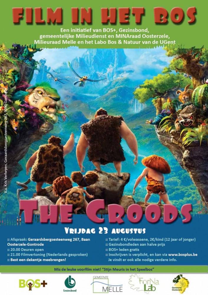 The Croods, vrijdag 23 augustus in het Aelmoesenijebos