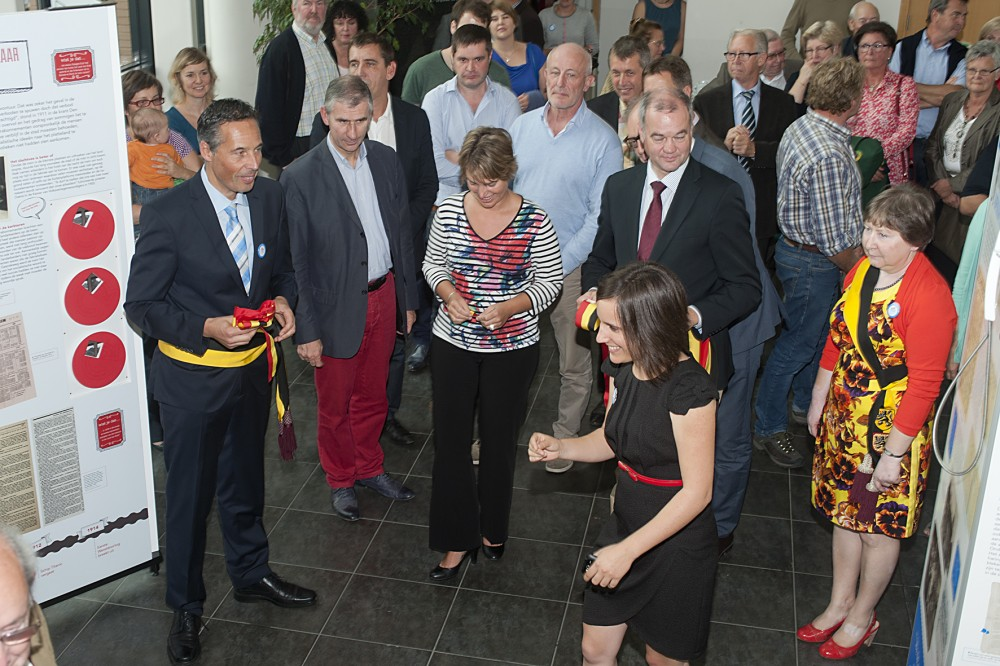 Tracé Travak feestelijk geopend door Vlaams minister van cultuur Joke Schauvliege (foto Michel De Paepe)