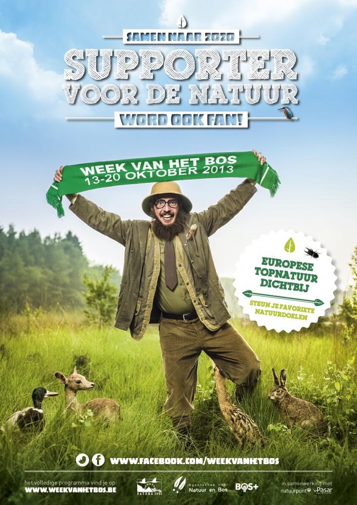 de campagne voor de week van het bos anno 2013