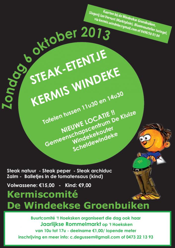 eetfestijn van de Groenbuiken uit Scheldewindeke