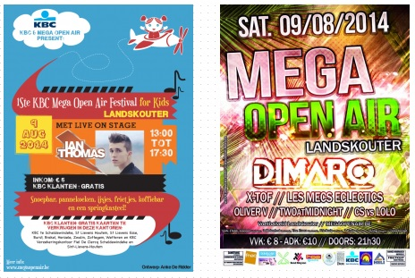 twee festivals op één dag