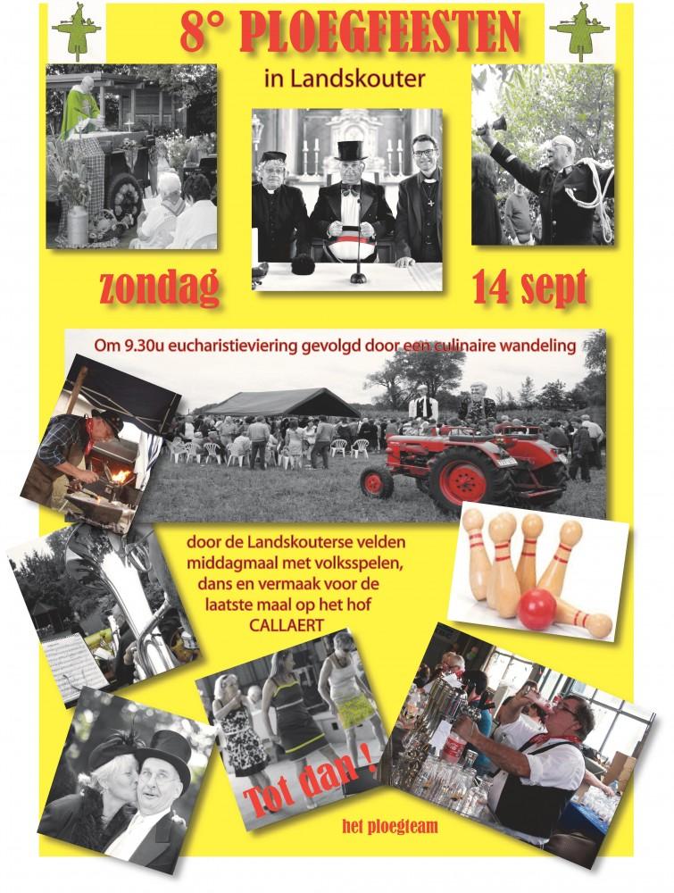 affiche van de Ploegfeesten anno 2014