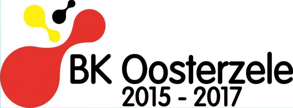 Logo van de kampioenschappen in Oosterzele (cross in Landskouter op 6/12/15 en wielrennen juniors op 28/5/17)