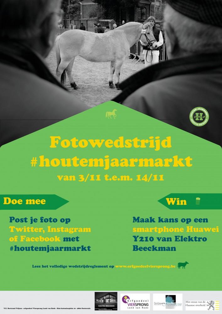 fotowedstrijd jaarmarkt in Sint-Lievens-Houtem