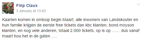 KBC Zomerfeest free tickets