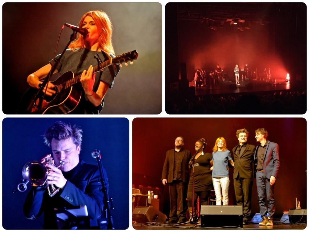 beelden van het optreden van Axelle Red in De Kluize op 4 februari 2015 - foto's Jean-Pierre Fack