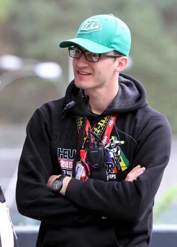 Gil De Vis, organisator van het wereldkampioenschap BMX 2015