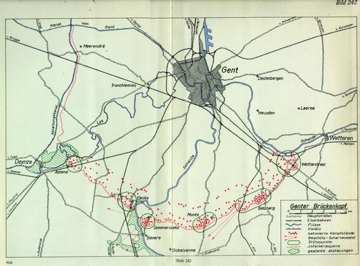 """""""Bruggenhoofd Gent"""" - de bunkergordel ten zuiden van Gent (foto via bunkergordel.be)"""