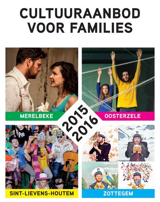 De brochure bundelt het cultuuraanbod voor families van Oosterzele, Merelbeke, Zottegem en Sint-Lievens-Houtem (klik op de brochure om ze te downloaden)