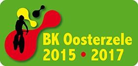 Logo van de kampioenschappen die in Oosterzele georganiseerd worden, waaronder de veldrit in Landskouter op 6/12