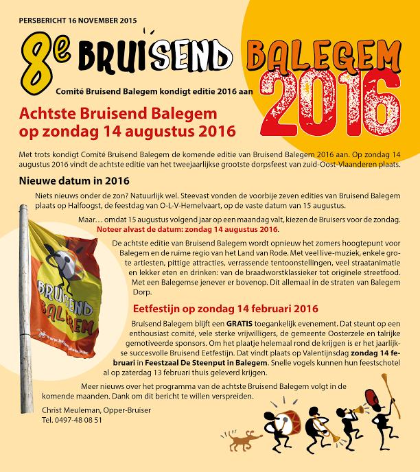 Bruisend Balegem 2016