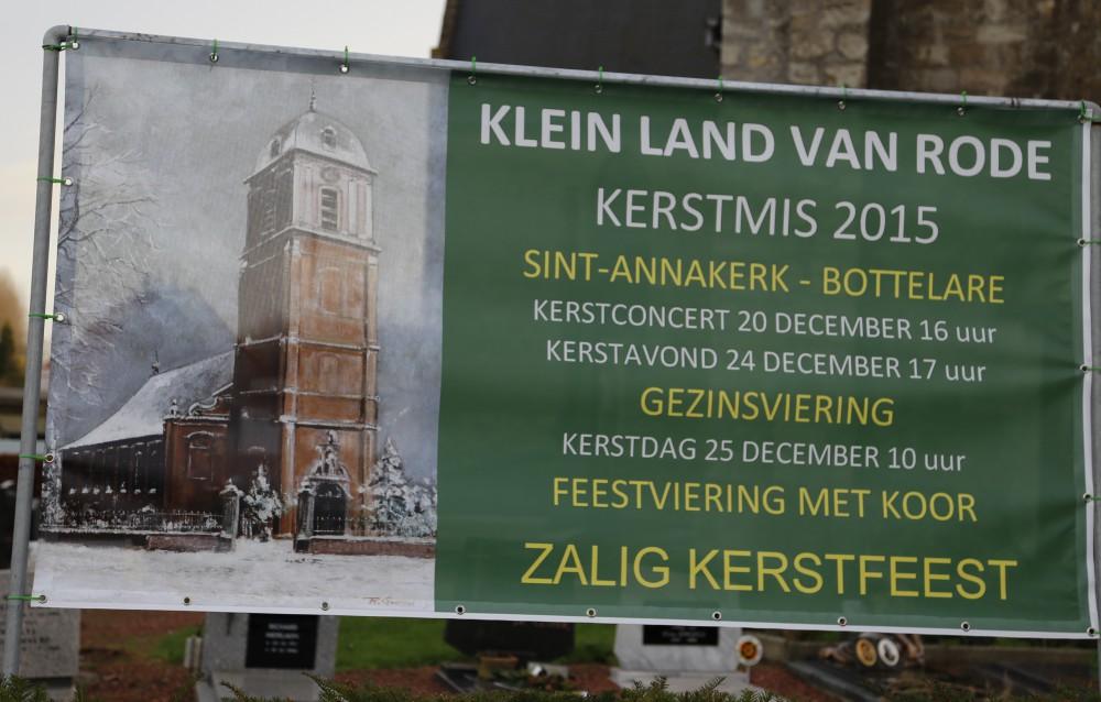 Kerstvieringen in de parochiegemeenschap Klein Land van Rode