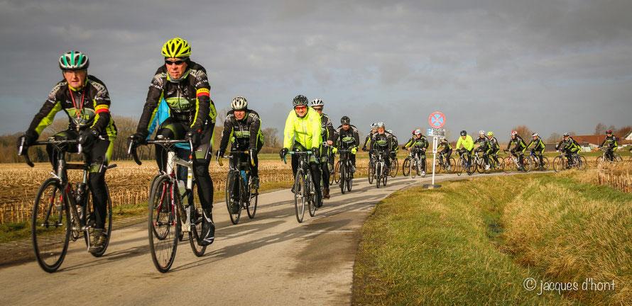 Rij mee het wielerseizoen in met WTC De Zwervers (foto Jacques D'Hont)
