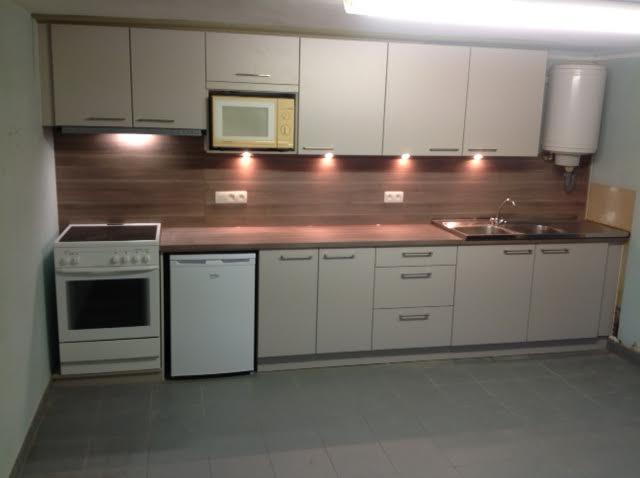 De nieuwe keuken van de kleuterschool op de Rooberg