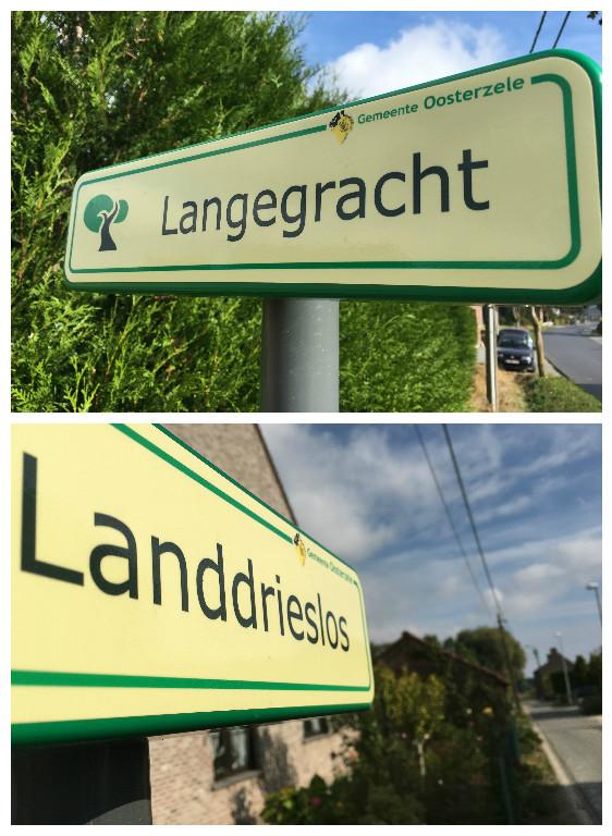 De gemeente installeerde de eerste bordjes om trage wegen aan te duiden in Anker