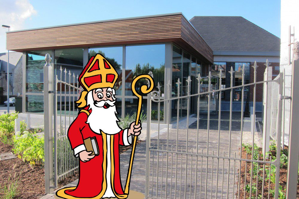 Sinterklaas op 4 december in Landskouter