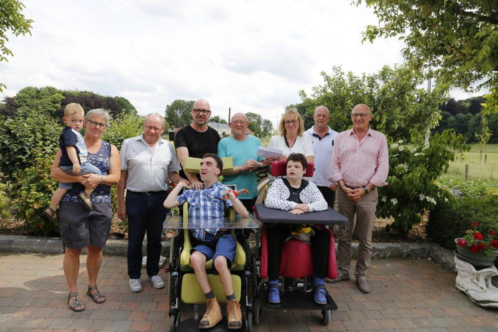 Paaseierenraap bracht €1.000 op voor gehandicapten