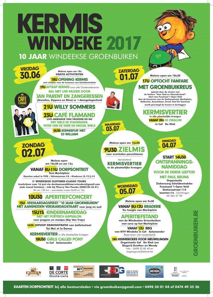 Sinksenkermis, Kermis in Roo en 10 jaar Windeekse Groenbuiken